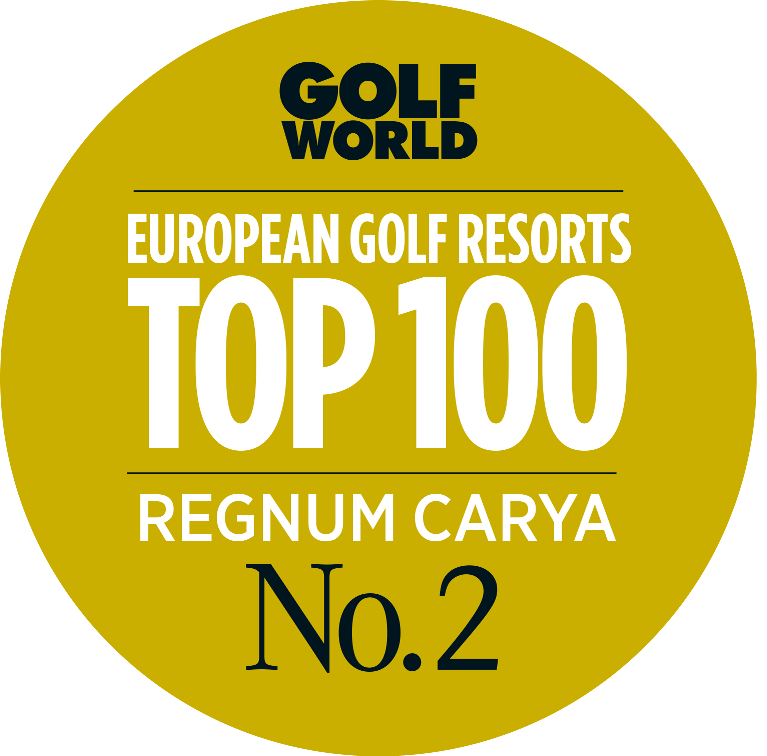 Regnum Carya; 2nd Best Golf Resort of Continental Europe!